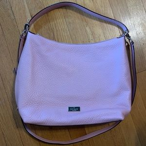 Kate Spade NWOT Pink Pebble Leather Purse